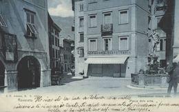 ITALIA - ITALY - TRENTINO - ROVERETO, Piazza Delle Oche - 1905 - Italia