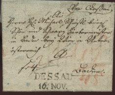 1817 DESSAU Bf N. Baden - Deutschland