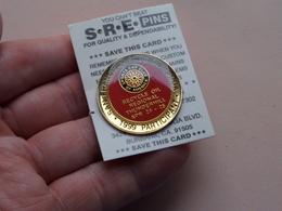 SPORTS CAR CLUB Of AMERICA ( SCCA San Francisco Region 1999 Apr 24 - 25 THUNDERHILL ) Pin - Brooch ! - Badges