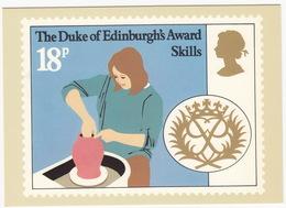 Skills (Pottery) - (18p Stamp) - The Duke Of Edinburgh's Award  - 1981 - (U.K.) - Postzegels (afbeeldingen)