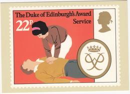 Service (CPR) - (22p Stamp) - The Duke Of Edinburgh's Award  - 1981 - (U.K.) - Postzegels (afbeeldingen)