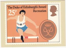 Recreation ( Hurdling)  - (25p Stamp) - The Duke Of Edinburgh's Award  - 1981 - (U.K.) - Postzegels (afbeeldingen)