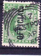 Neuseeland New Zealand - Dienst/service König Edward VII. (MiNr: 14) 1910 - Gest Used Obl - Used Stamps