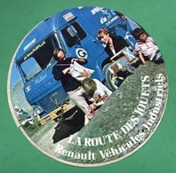 RENAULT VEHICULES INDUSTRIELS LA ROUTE DES JOUETS -  AUTOCOLLANT   N°2717 - Stickers