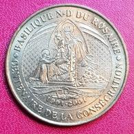 Lourdes Centenaire De La Consécration Lourdes  2001 - Monnaie De Paris