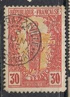 """CONGO N°35 Variété """"0"""" Brin Sur Le """"S"""" De Français - Congo Français (1891-1960)"""