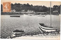 LACANAU VILLE - 33 - Bord De L'Étang - RARE - LYO87/SAL - - Autres Communes