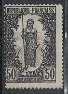 """CONGO N°37 N* Variété """"0"""" Brin Sur Le """"S"""" De Français - Congo Français (1891-1960)"""