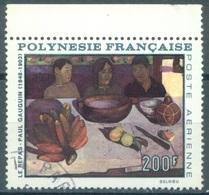 POLYNESIE - USED/OBLIT.  - 1968 - GAUGUIN LE REPAS - Yv PA 25 - Lot 16865 - Poste Aérienne