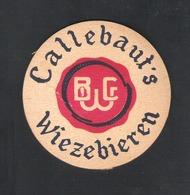 OUD Bierviltje - Sous-bock - Bierdeckel : B C W  - CALLEBAUT'S   WIEZEBIEREN    (B 413) - Bierdeckel