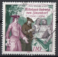 Germania 2000 Sc. 2085 Nikolaus Ludwig Von Zinzendorf Lider Religioso Used - Theologians