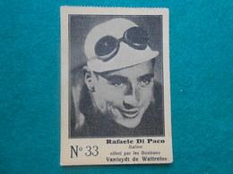Cyclisme Oude Chromo Wielrenner Bonbons Vanluydt De Wattrelos  Nr 33  Rafaele Di Paco  Italien - Ciclismo