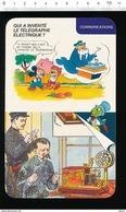 Fiche Disney Humour Invention Du Télégraphe électrique Samuel Morse /  IM 01/D-2 - Old Paper