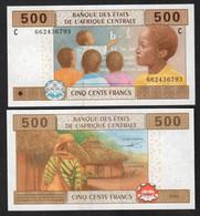 CHAD (Central African States ) : 500 Francs - 606Cb - UNC - Gabun