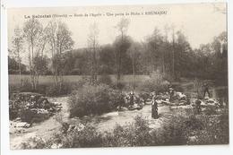 34 La Salvetat, Bords De L'Agout, Partie De Pêche à Rieumajou. Carte Inédite (2950) - Autres Communes