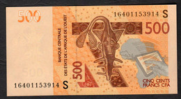 GUINEA BISSAU  ( West African States) 500 Francs - 2012 - P910S - UNC - Guinea-Bissau