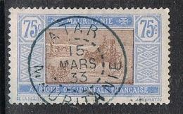 MAURITANIE N°30  Belle Oblitération D' ATAR - Usados
