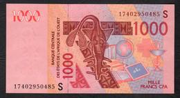 GUINEA BISSAU  ( West African States) 1000 Francs - 2003 - P911Sg - UNC - Guinea–Bissau