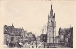 Nieuwpoort, Kerkstraat En Toren O.L.Vrouw Kerk (pk46485) - Nieuwpoort