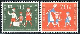 BRD - Mi 250 / 251 - ** Postfrisch (C) - 10+5-20+10Pf       Erholungsplätze Für Berliner Kinder - [7] West-Duitsland