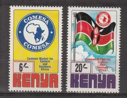 1997 Kenya Comesa Complete Set Of 2 MNH - Kenya (1963-...)