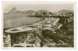 CPA PHOTO   RIO DE JANEIRO      1937      PRACA PARIS    VUE AERIENNE - Rio De Janeiro