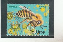 FRANCE 2016 ABEILLE COLLETE OBLITERE  YT 5051-                    TDA251 - France