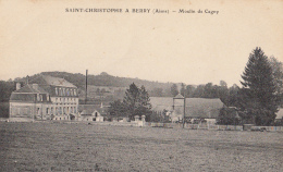 02- Saint Christophe  Moulin De Cagny - France