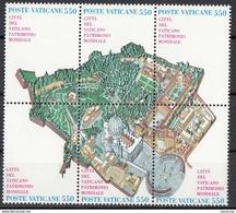 Vaticano 1986 Blf. 786 Città Del Vaticano Patrimonio Dell' Unesco Nuovo - UNESCO