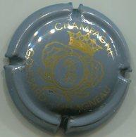 CAPSULE-CHAMPAGNE GOUSSARD-DELAGNEAU N°03 Gris & Or - Champagnerdeckel