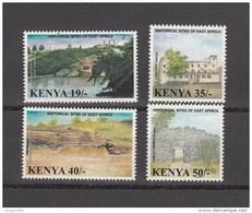 2002 Kenya Historical Sites Of East Africa Complete Set Of 4 MNH - Kenya (1963-...)