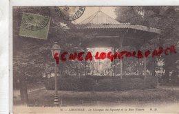 33 - LIBOURNE- LE KIOSQUE DU SQUARE ET LA RUE THIERS - 1918 - Libourne