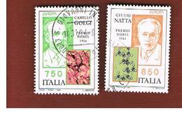 ITALIA REPUBBLICA  - UNIF. 2139.2140 -   1994 EUROPA      -            USATO - 6. 1946-.. Repubblica