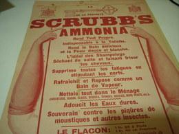 ANCIENNE PUBLICITE LA PROPRETE  SCRUBB S 1914 - Advertising