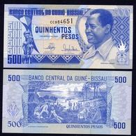 GUINEA BISSAU  500 Pesos - 1990 - UNC - Guinea–Bissau