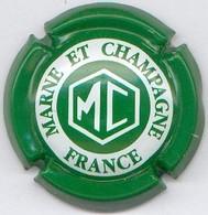 CAPSULE-CHAMPAGNE MARNE ET CHAMPAGNE N°05 Vert & Blanc - Marne Et Champagne