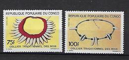 "Congo YT 879 & 880 "" Colliers "" 1990 Neuf** - Congo - Brazzaville"