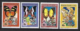 """Congo YT 881 à 884 """" Scoutisme Et Champignons """" 1990 Neuf** - Congo - Brazzaville"""