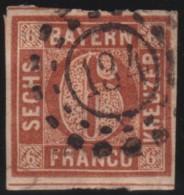 Bayern   .     Michel    .       4 II        .       O     .     Gebraucht - Bavaria