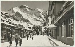 WENGEN - Dorfstrasse Mit Jungfrau - BE Berne