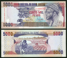 GUINEA BISSAU  5000 Pesos - 1993 - UNC - Guinea–Bissau