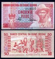 GUINEA BISSAU  50 Pesos - 1990 - UNC - Guinea–Bissau