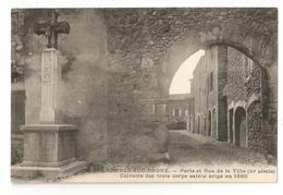 07 Andance Sur Rhône, Porte Et Rue De La Ville (2962) L300 - France