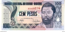 GUINEA BISSAU  100 Pesos - 1990 - UNC - Guinea–Bissau
