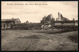 B4181 - Dontrien - Feldpostkarte - A. Lange Leipzig Connewitz TOP - Reims