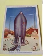 Lot Of 2 SPACE CARDS - SPANISH SPACE ADVENTURES 1936 - SCI -FI - UFO - OVNI - SOUCOUPE - Snoepgoed & Koekjes