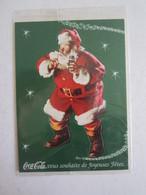 Carte Coca Cola Sous Blister Joyeuses Fêtes Père Noël - Autres Collections
