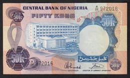 NIGERIA  : 50 Kobo - 1973 - UNC - Nigeria