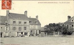 JUVIGNY-sous-ANDAINE - Un Coté De La Place -ed. G. Hubert - Juvigny Sous Andaine
