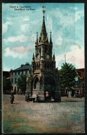 RB 1203 -  Early Postcard - Clock & Fountain - Stratford-on-Avon Warwickshire - Stratford Upon Avon